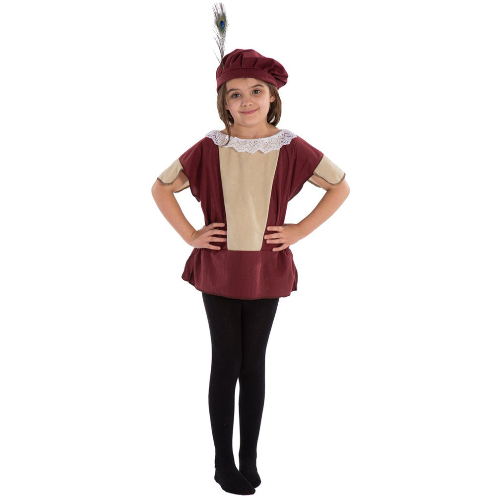 Image of Kids Elizabethan | Tudor | Shakespeare costume |Charlie Crow