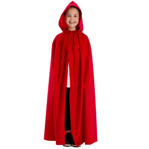 Image of Red cloak costume for kids | Charlie Crow