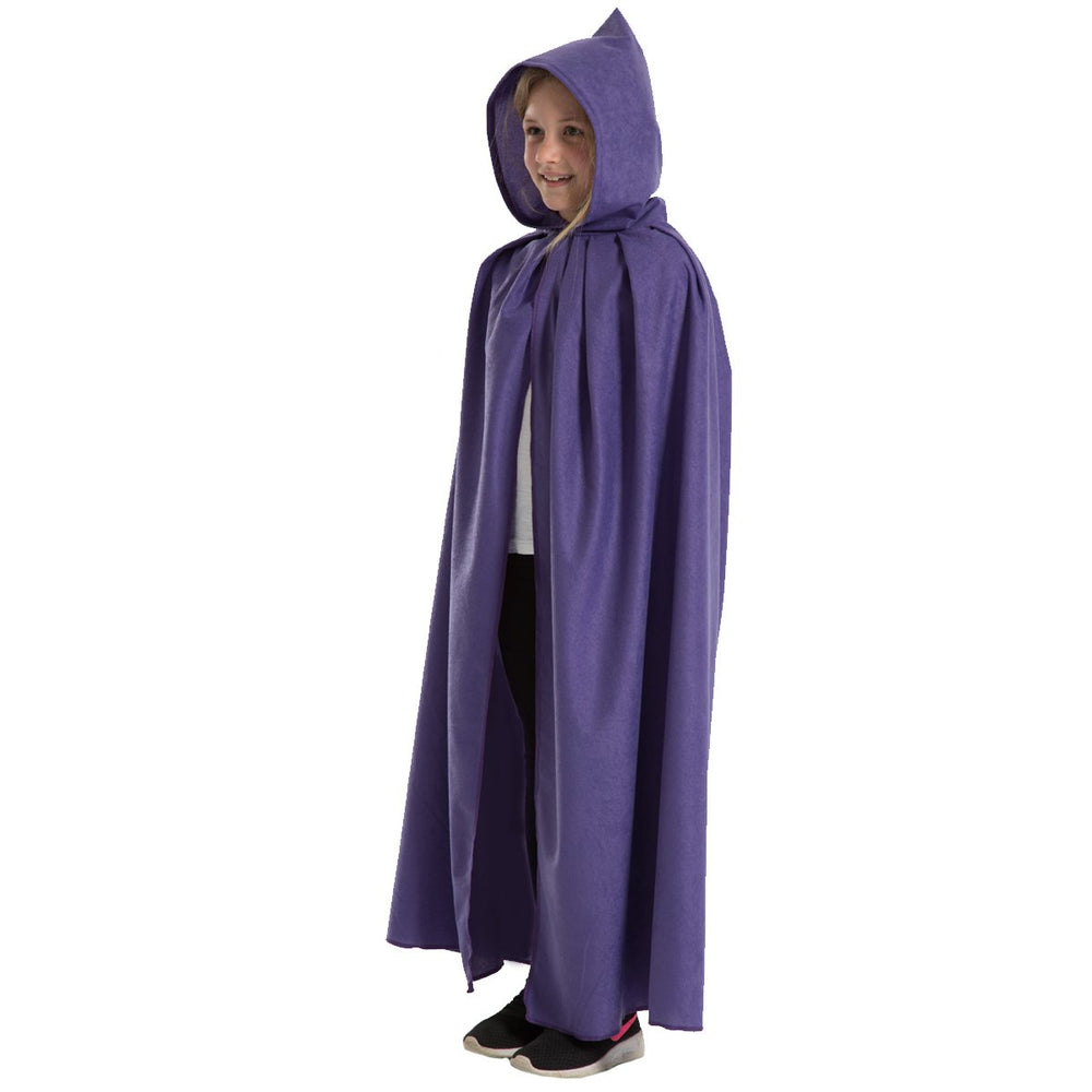 Image of Purple cloak costume for kids | Charlie Crow