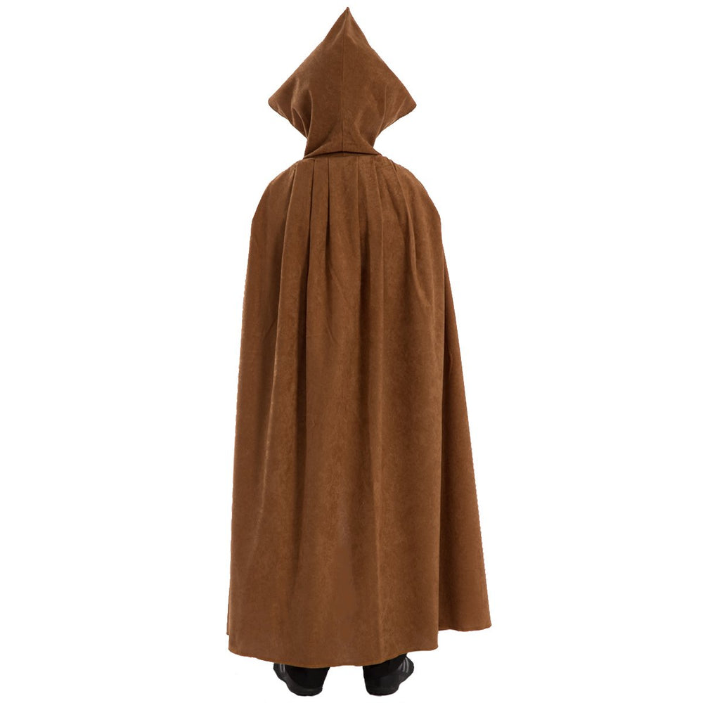 Image of Light Brown cloak costume for kids | Charlie Crow