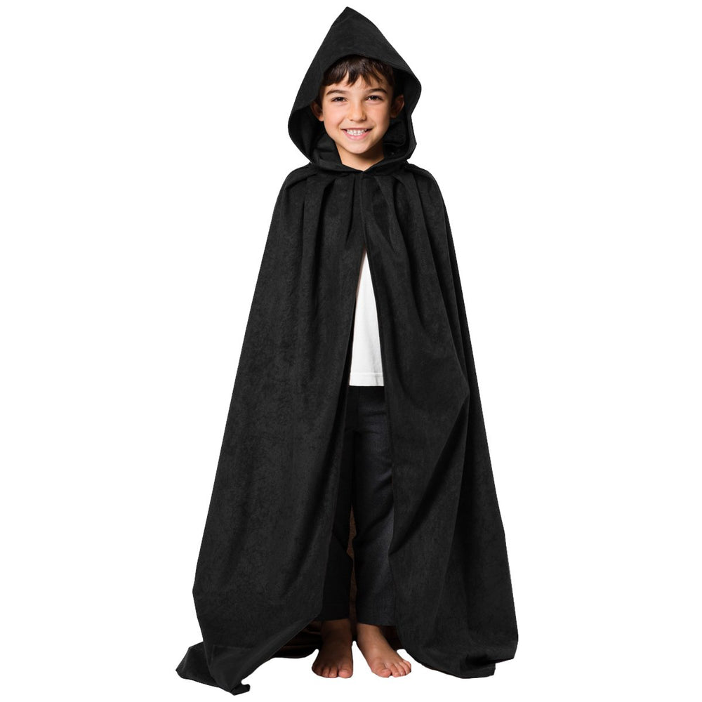 Image of Black cloak costume for kids | Charlie Crow