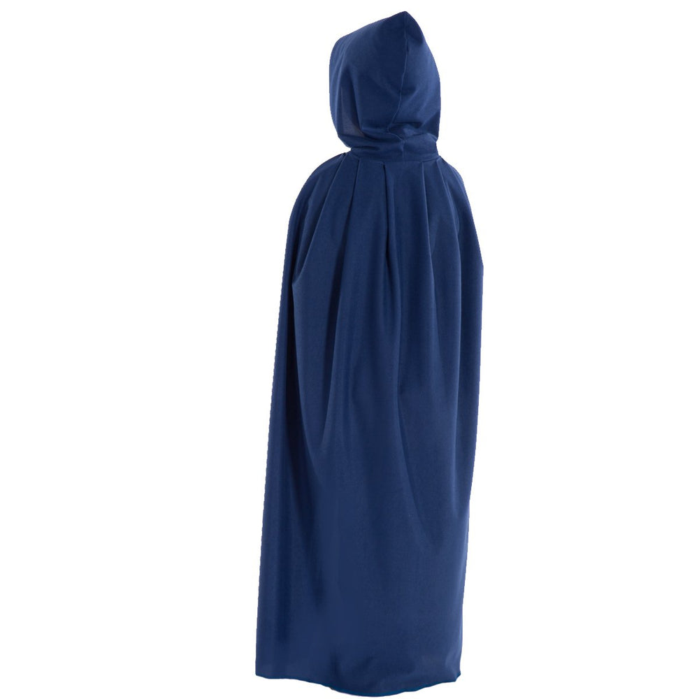 Image of Dark Blue wizard cloak costume for kids | Charlie Crow
