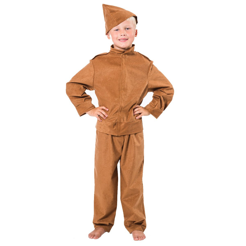 Image of Home guard | Army | soldier costume for kids | Charlie Crow