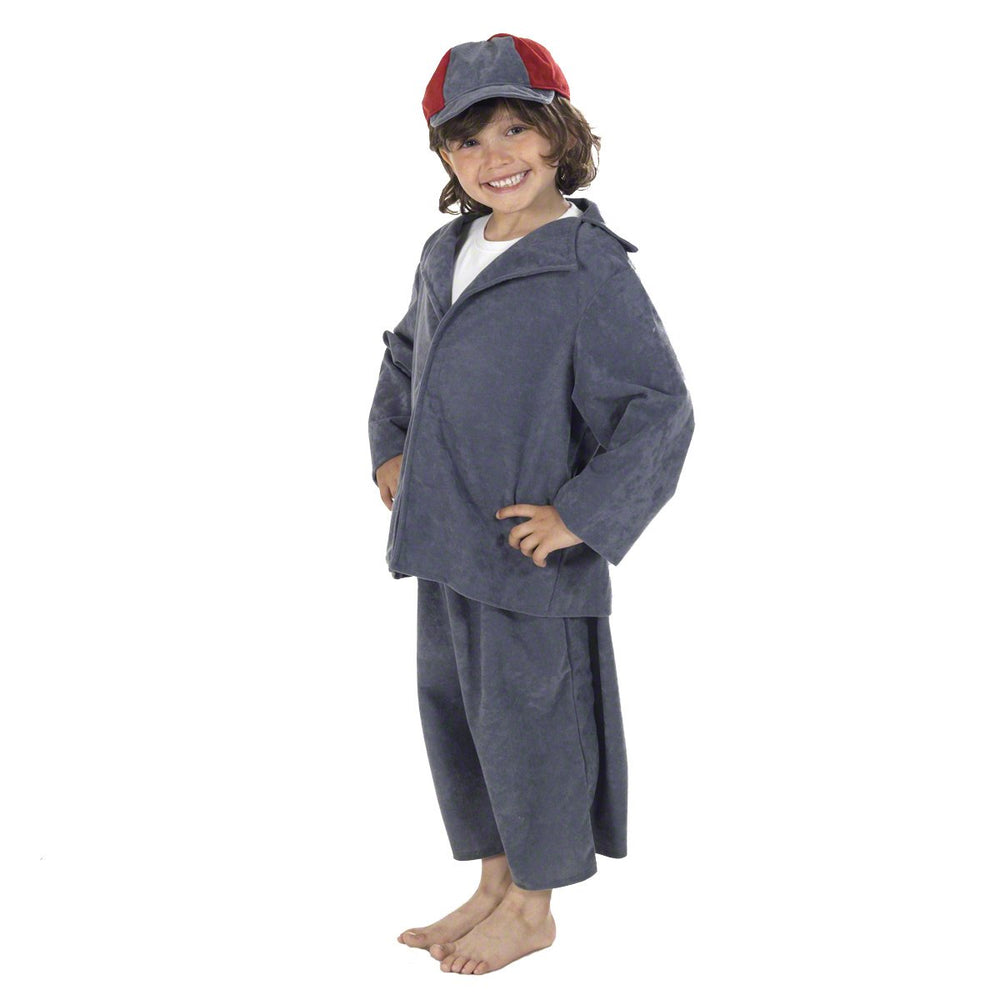 Image of Evacuee Boy costume for kids | Charlie Crow