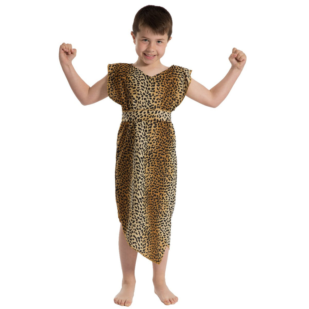 Image of Leopard Caveman Stone Age costume for kids | Charlie Crow
