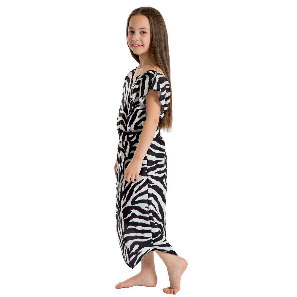 Iamge of Zebra Caveman Stone Age costume for kids | Charlie Crow
