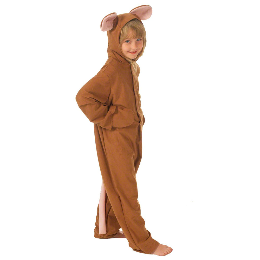 Image of Brown Mouse | Rat unisex costume for kids | Charlie Crow