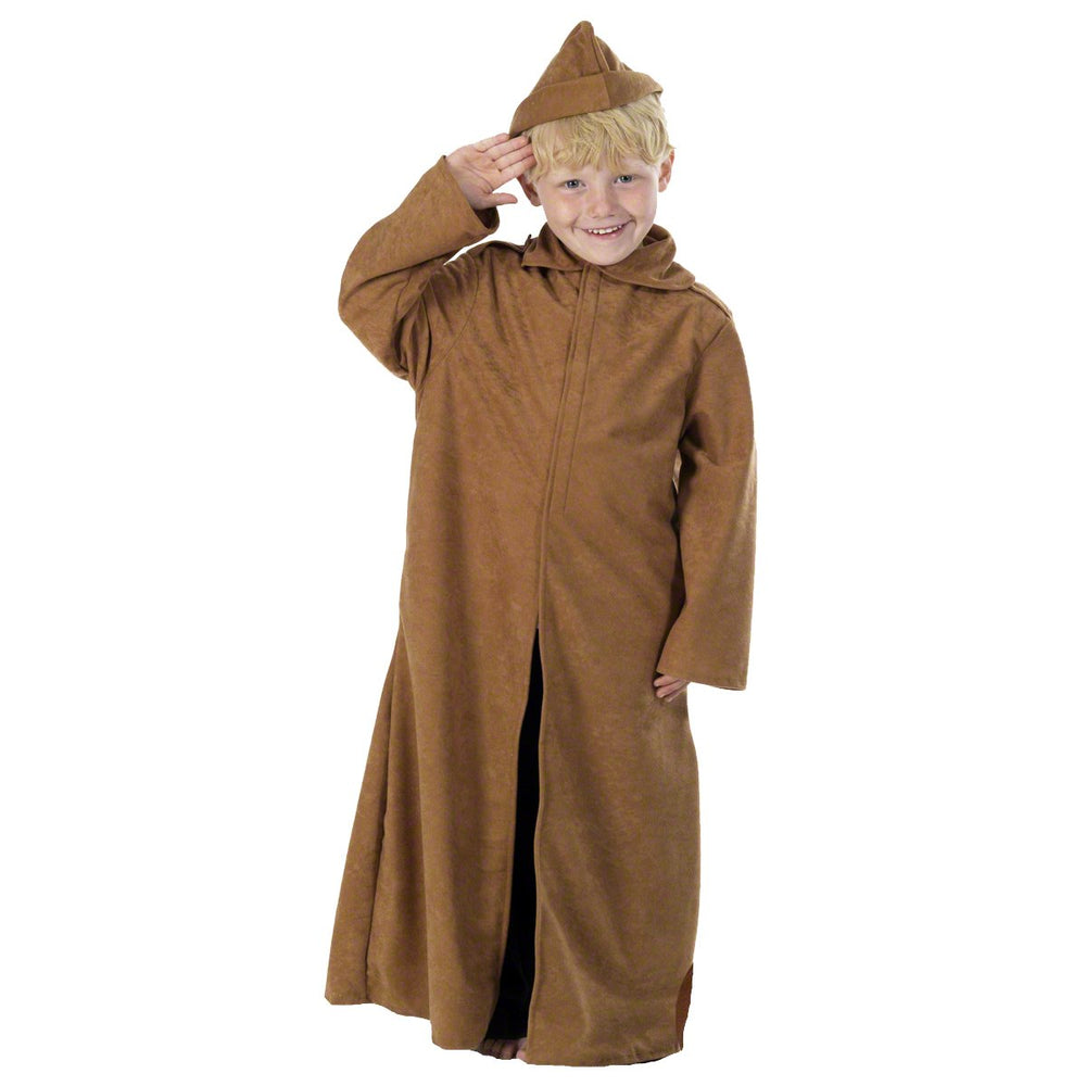 Image of WW1 Trench Coat / Soldier costume for kids | Charlie Crow