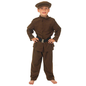 Image of WW1 | WW2 soldier | Army costume for kids | Charlie Crow