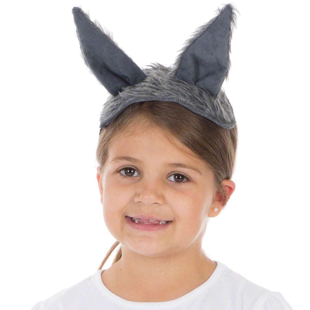 Image of Grey Wolf set costume for kids | Charlie Crow