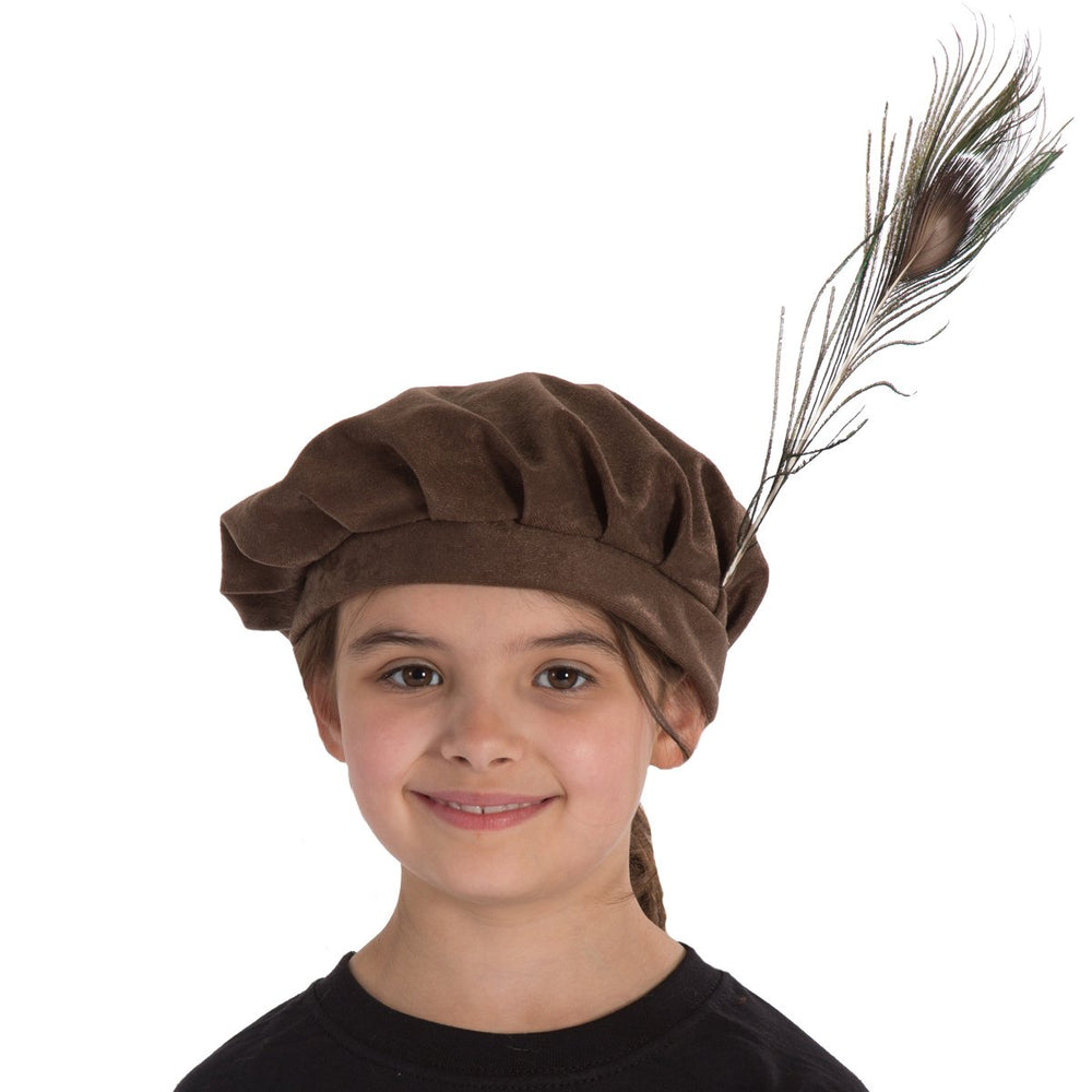 Image of Tudor | Shakespeare | Elizabethan hat for kids | Charlie Crow