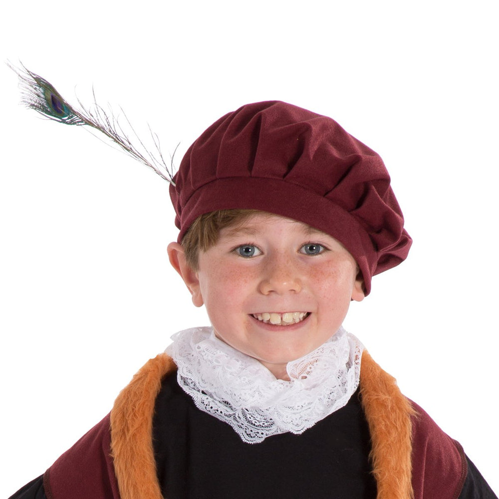 Image of Fancy dress Tudor | Elizabethan | Shakespeare hat | Charlie Crow