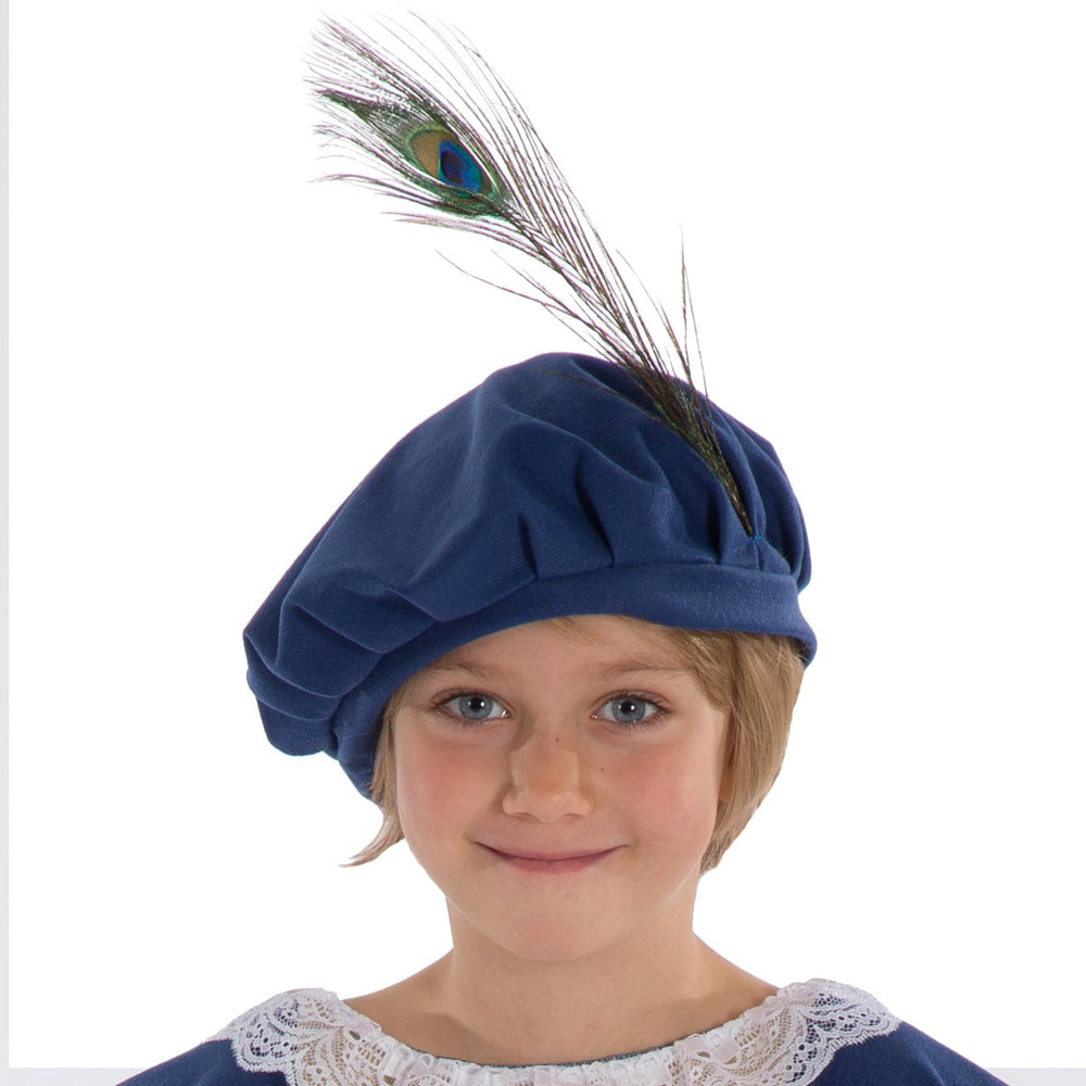 Image of Child Tudor | Elizabethan | Shakespeare hat | Charlie Crow