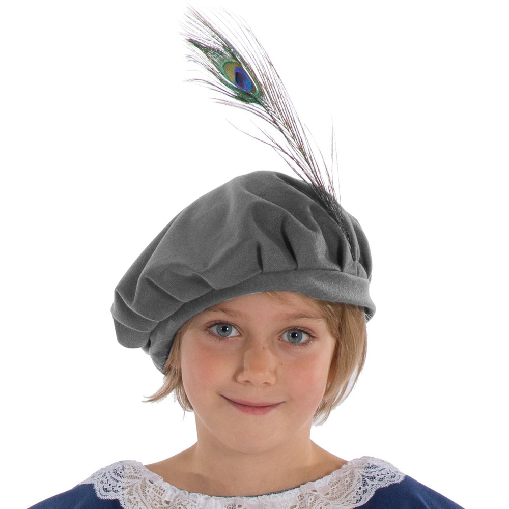 Image of Child Elizabethan | Tudor | Shakespeare hat | Charlie Crow