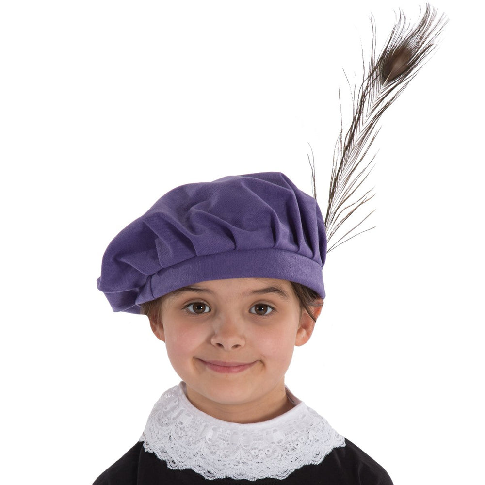 Image of Kids Tudor | Shakespeare | Elizabethan hat | Charlie Crow