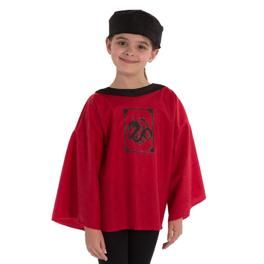Image of Red Chinese New Year costume for kids | Charlie Crow