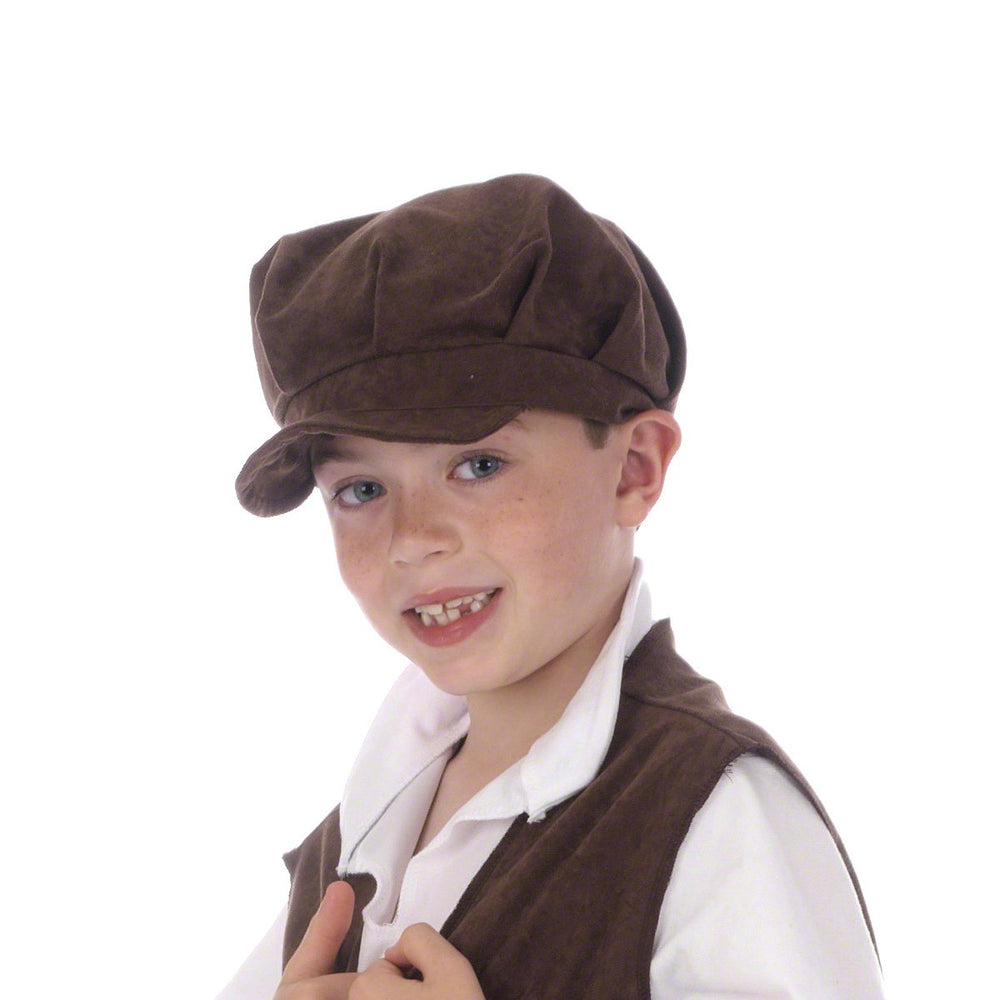 Image of Victorian pauper boys cap costume accessory | Charlie Crow