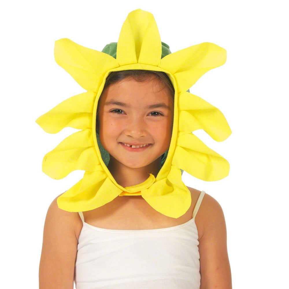 Image of Sunflower | Daffodil fancy dress hood | Charlie Crow