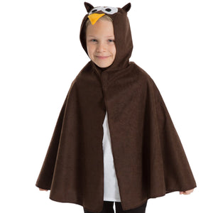 Image of Brown Owl kids fancy dress costume | Charlie Crow