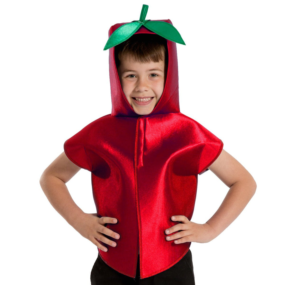 Image of Tomato Fruit Veg kids dress up costume | Charlie Crow