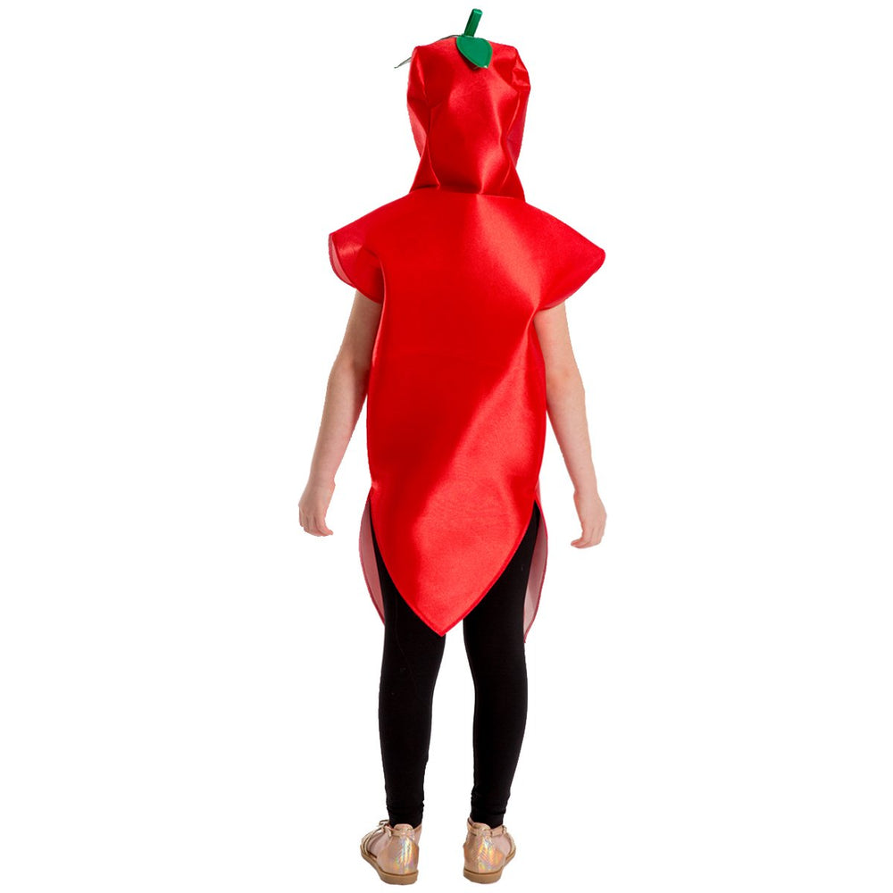 Image of Red Pepper | chilli Fruit Veg kids dress up | Charlie Crow