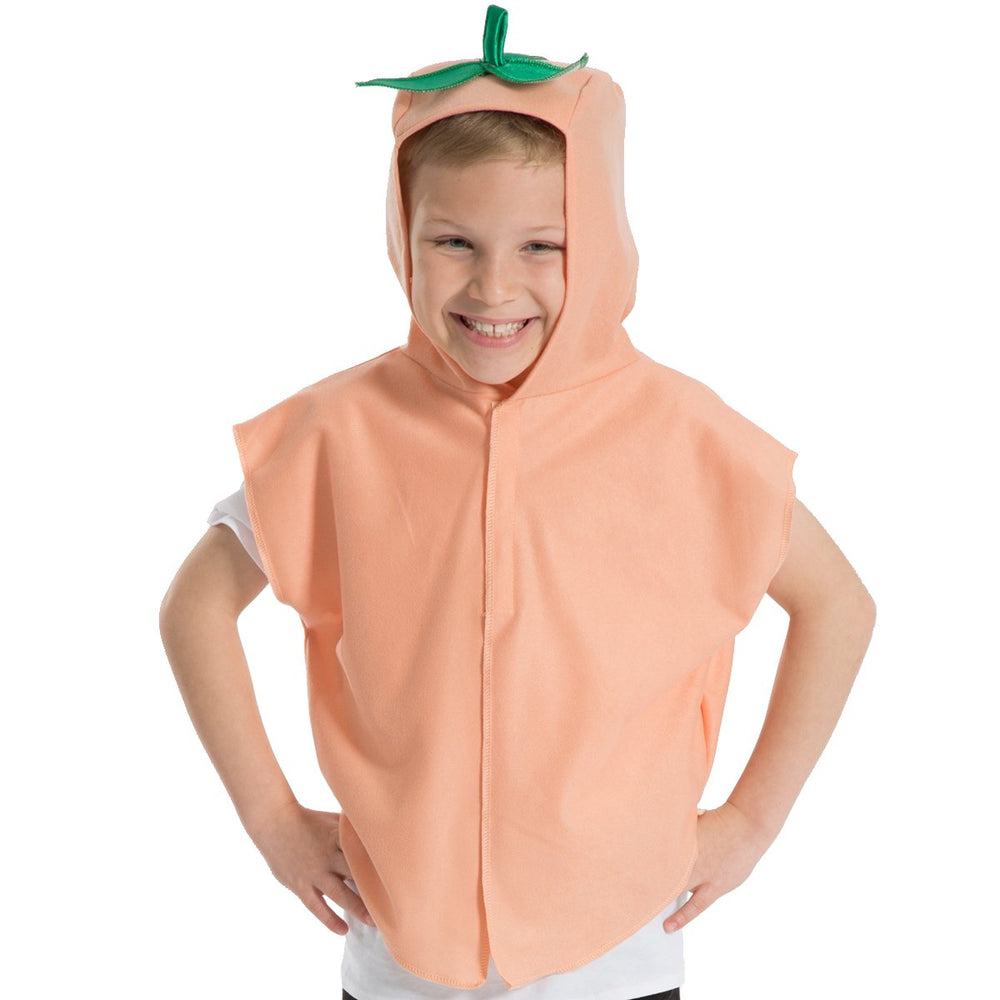 Image of Peach | apricot Fruit Veg kids dress up costume | Charlie Crow