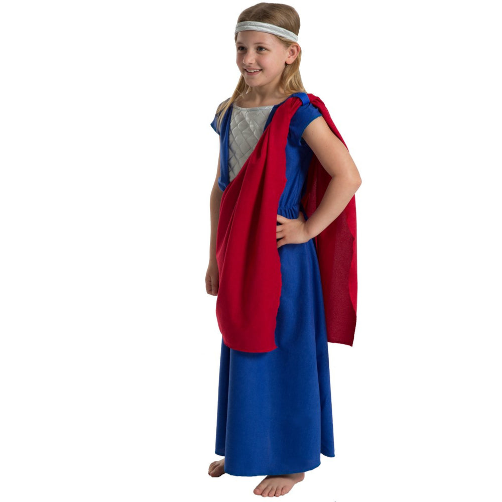 Image of Historical Anglo Saxon Girl dress up costume | Charlie Crow