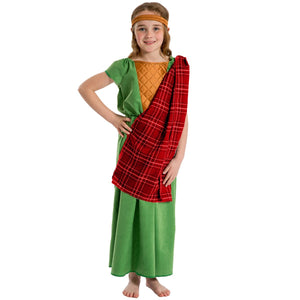 Image of Historical Celt | Girl fancy dress costume | Charlie Crow