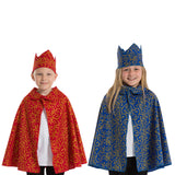 Image of Prince | Princess fairy tale Cape Crown costume | Charlie Crow