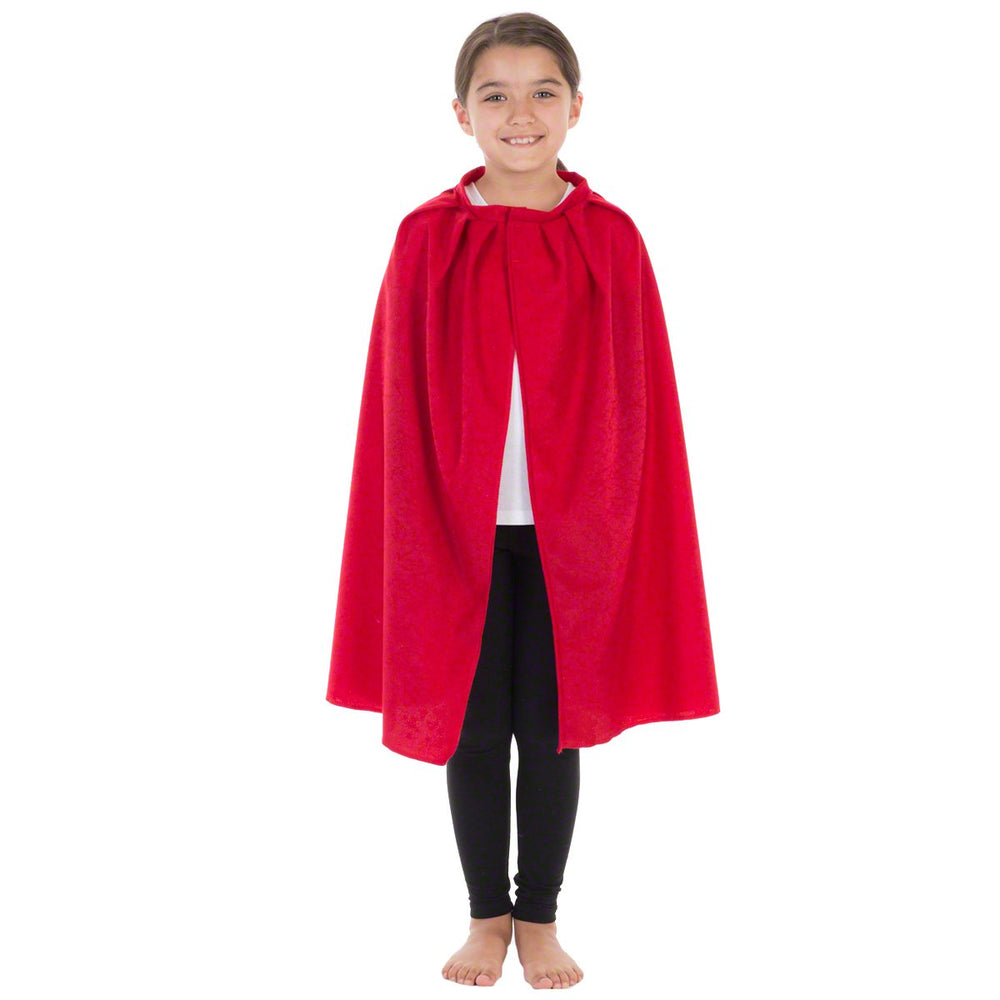 Image of Red superhero Cape kids fancy dress costume | Charlie Crow