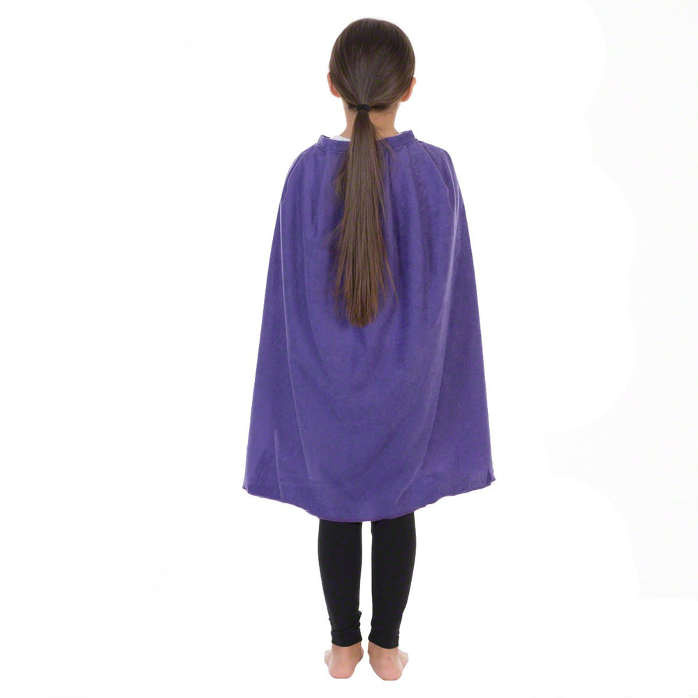 Image of Purple superhero Cape kids fancy dress | Charlie Crow