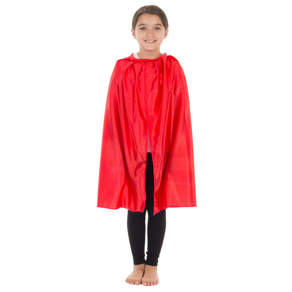 Image of Superhero Red Cape kids fancy dress costume | Charlie Crow