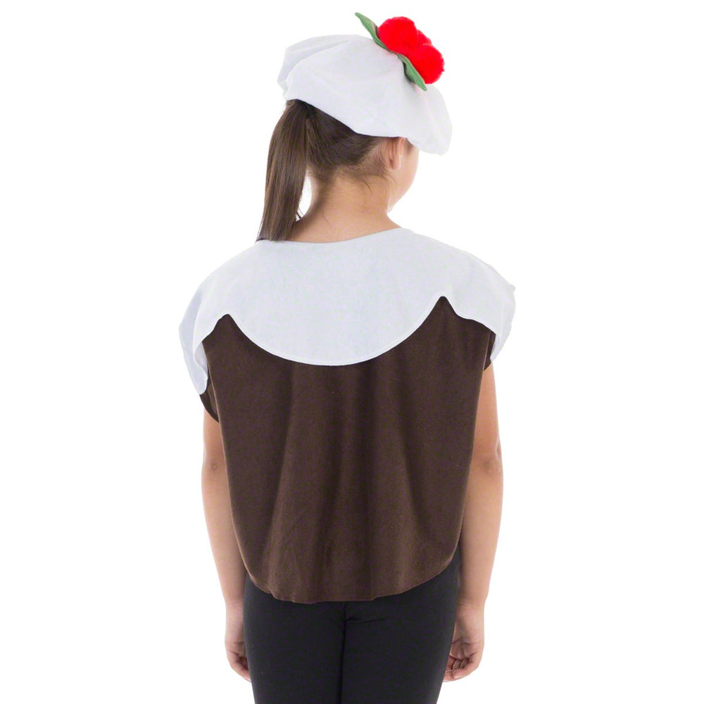Image of Christmas Pudding kids fancy dress costume | Charlie Crow