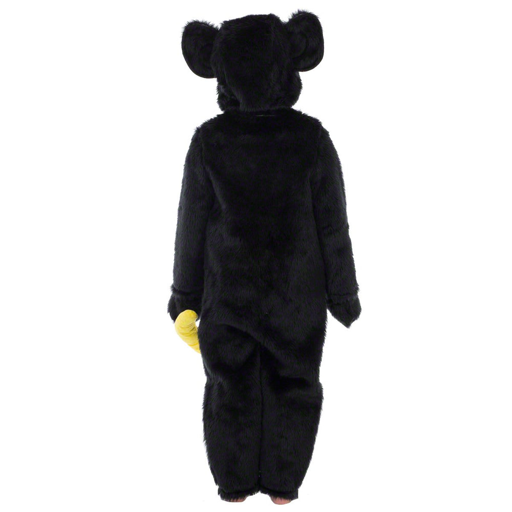 Image of Black Monkey | Chimp | Ape kids fancy dress | Charlie Crow