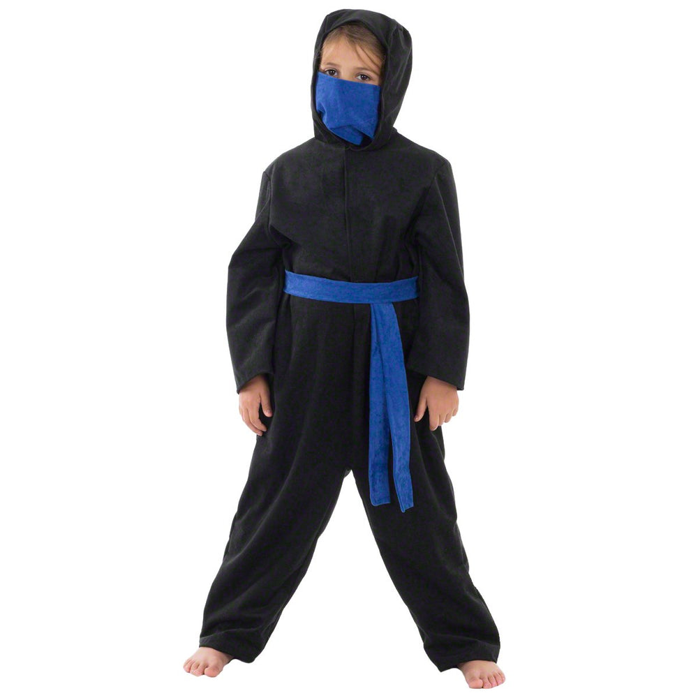 Image of Blue Ninja kids fancy dress costume | Charlie Crow