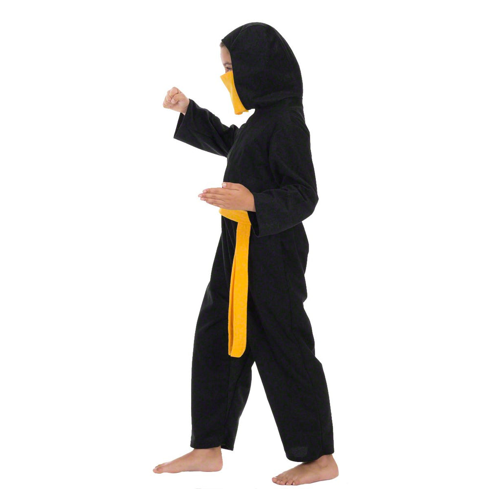 Image of Orange Ninja kids fancy dress costume | Charlie Crow