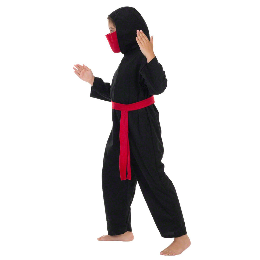 Image of Red Ninja kids fancy dress costume | Charlie Crow