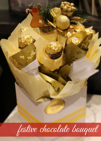 Festive Chocolate Bouquet