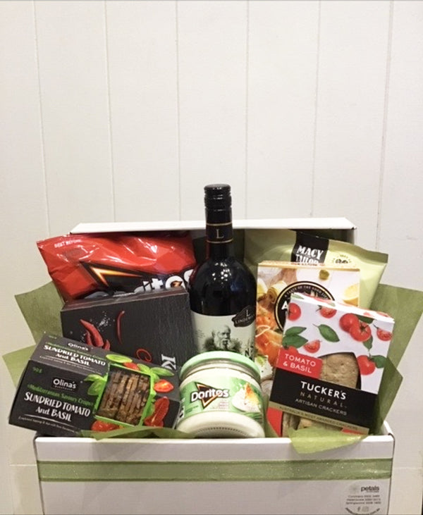 The Stylish Hamper with Choice of Wine