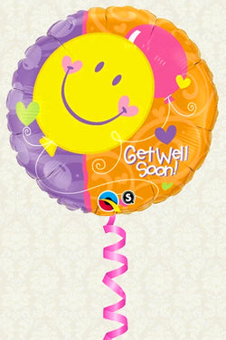 Helium Balloon - Get Well