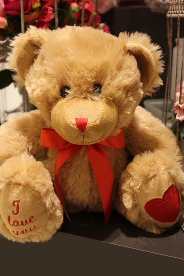 Cuddly Teddy Bear - I Love You