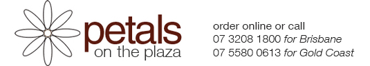 Petals on the Plaza - Buy Flowers Online Florist Brisbane & Gold Coast QLD