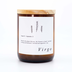 Virgo Soy Candle