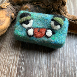Mystery Mini Monster Felted Soap