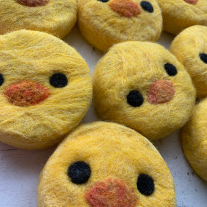 Felted Duck Soap