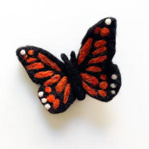 Felted Butterfly air freshener