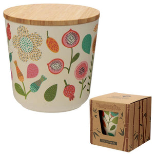 Autumn Falls Bamboo Fibre Storage Jars - 3 Sizes BambooBeautiful Ltd