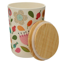 Load image into Gallery viewer, Autumn Falls Bamboo Fibre Storage Jars - 3 Sizes BambooBeautiful Ltd