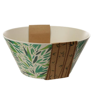 Bamboo Fibre Willow Salad Bowl Bowl BambooBeautiful