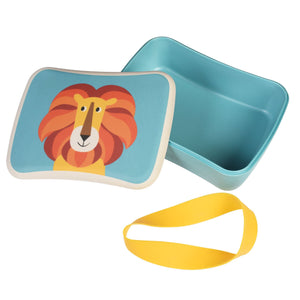 Charlie The Lion Bamboo Fibre Lunchbox lunch box BambooBeautiful